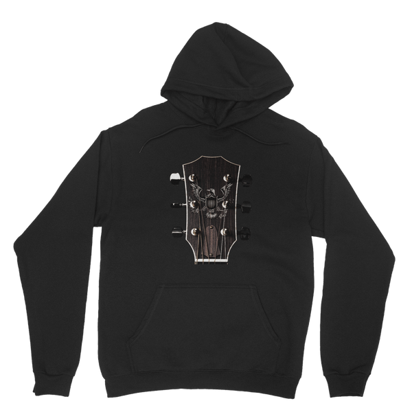Personalized Classic Guitar Headstock - Mens - Hoodie - Small to 5XL