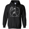 Vitruvian Guitar - Mens - Hoodie - Small to 5XL