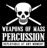Weapons of Mass Percussion _?? Mens - Hoodie - Small to 5XL