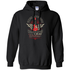 When Life Gets Complicated - I Play Guitar _?? Mens - Hoodie - Small to 5XL