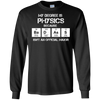 Badass Physics Major - Mens - Long Sleeved Tshirt - Small to 5XL
