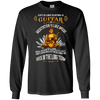 Buddha Guitar - Mens - Long Sleeved Tshirt - Small to 5XL