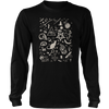 Elements of Witchcraft Inspired by Wicca - Mens - Long Sleeved Tshirt - Small to 5XL