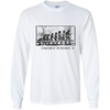 Evolution of the Guitarist - Mens - Long Sleeved Tshirt - Small to 5XL