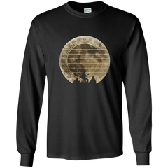 Guitar In The Moonlight - Mens - Long Sleeved Tshirt - Small to 5XL