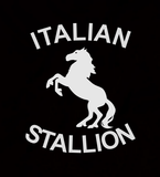 Italian Stallion - Mens - Long Sleeved Tshirt - Small to 5XL