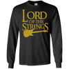 Lord of the Strings (Guitar) - Mens - Long Sleeved Tshirt - Small to 5XL
