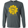 Motorcycles Are For Life And Not Just Sunny Days - Mens - Long Sleeved Tshirt - Small to 5XL
