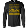 My Motorcycle Is My Best Friend It Is My Life - Mens - Long Sleeved Tshirt - Small to 5XL