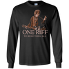 One Riff To Rule Them All - Mens - Long Sleeved Tshirt - Small to 5XL