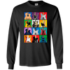 Pop Art Guitar - Mens - Long Sleeved Tshirt - Small to 5XL
