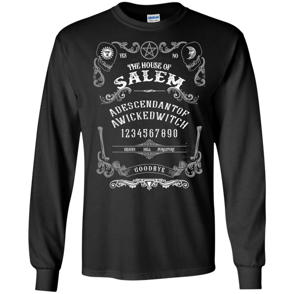 Quija Board Inspired by Witchcraft & Wicca - Mens - Long Sleeved Tshirt - Small to 5XL
