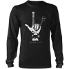 Rock Gesture - Mens - Long Sleeved Tshirt - Small to 5XL