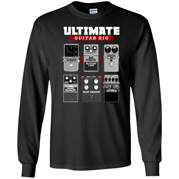 Ultimate Guitar Rig - Mens - Long Sleeved Tshirt - Small to 5XL