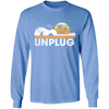 Unplugged Guitar - Mens - Long Sleeved Tshirt - Small to 5XL