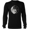 Yin Yang Owl Inspired by Witchcraft & Wicca - Mens - Long Sleeved Tshirt - Small to 5XL