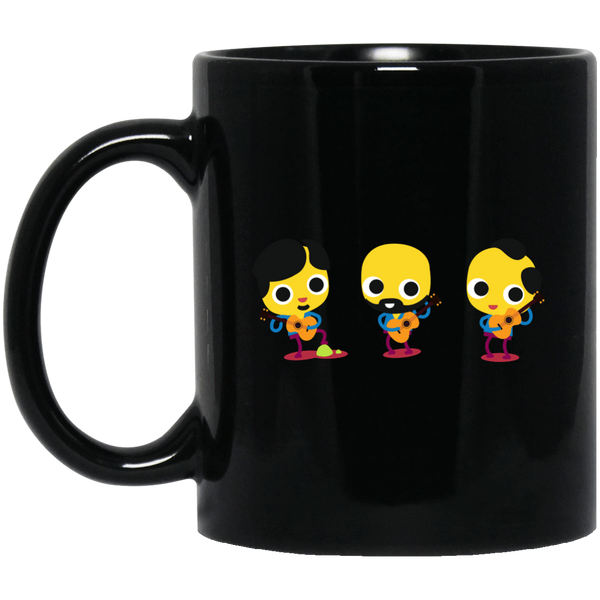 Guitar Chicks 11 oz. or 15 oz. Black Mug