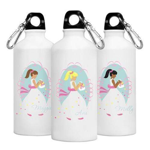 Personalized Goin' to the Chapel Water Bottle - Flower Girl