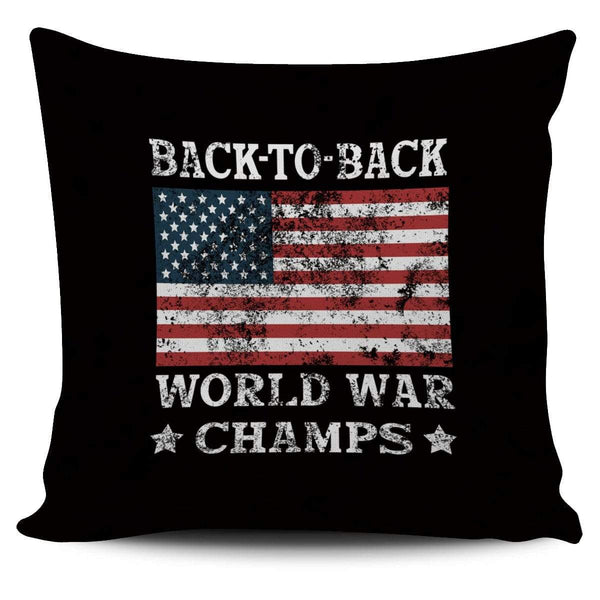 Back To Back World Champ - Pillow Cover