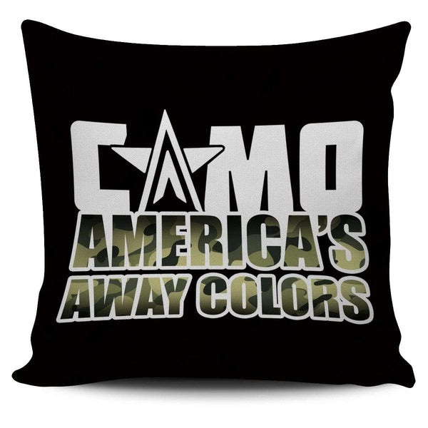Camo - America's Away Colors - Pillow Cover