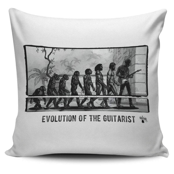 Evolution of the Guitarist - Pillow Cover