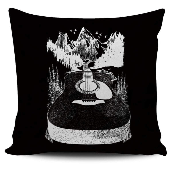 Go Where The Guitar Takes You (Version 2) - Pillow Cover