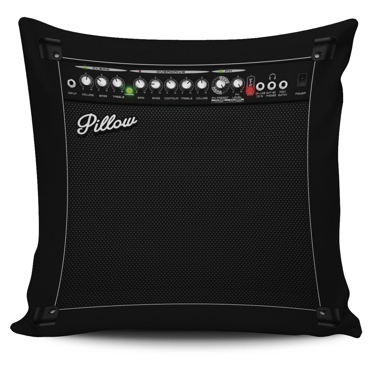 Guitar Pillow (Cushion) Covers Offer Wall