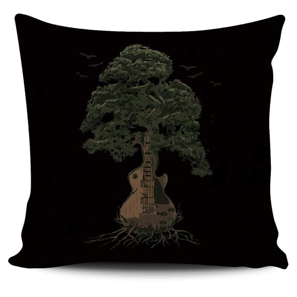 Guitar Tree (Color) - Pillow Cover