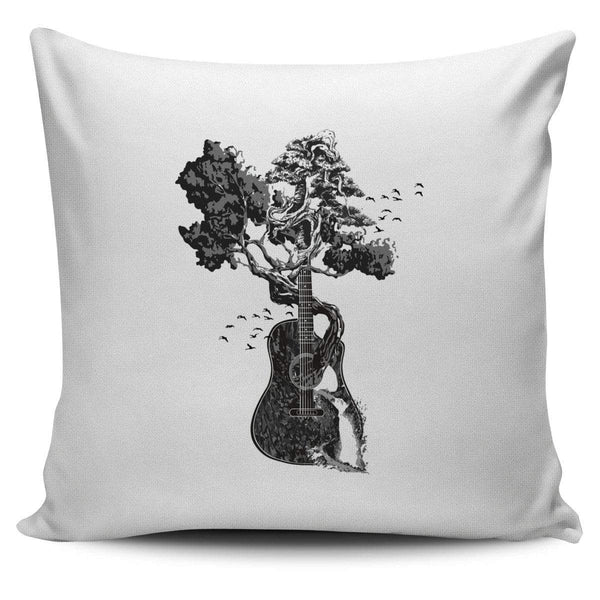 Guitar Tree - Pillow Cover