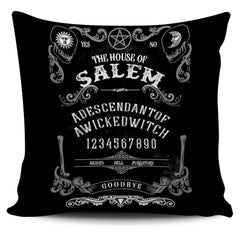 Quija Board Inspired by Witchcraft & Wicca - Pillow Cover