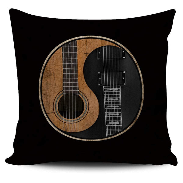 Yin Yang Guitar - Pillow Cover