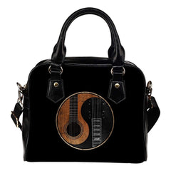 Yin Yang Guitar Shoulder Handbag