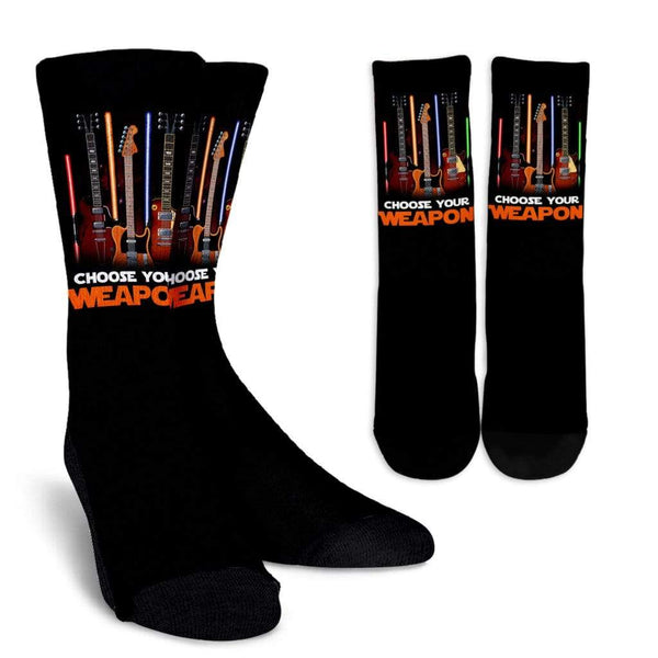 Choose Your Weapon 2018 Socks