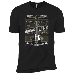 100% Proof Finest Guitar Life _?? Mens - Tshirt - Small to 5XL