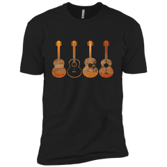 4 Guitar Print - Mens - Tshirt - Small to 5XL