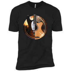 Acoustic and Electric Playing Guitars - Mens - Tshirt - Small to 5XL