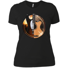 Acoustic and Electric Playing Guitars - Womens - Tshirt - Small to 3XL