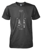 Acoustic Patent (Guitar)- Mens - Tshirt - Small to 5XL