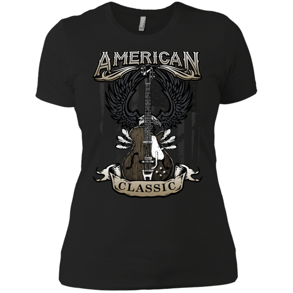 American Classic Guitar - Womens - Tshirt - Small to 3XL