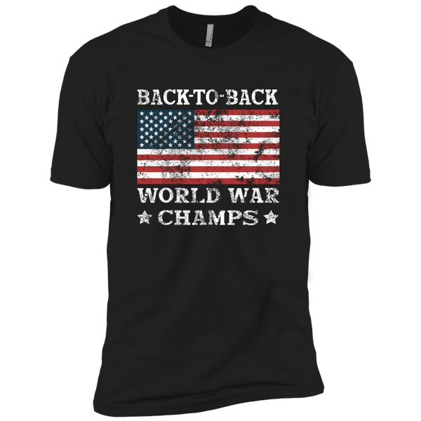 Back To Back World Champs - Mens - Tshirt - Small to 5XL