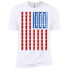 Beer Pong Flag - Mens - Tshirt - Small to 5XL