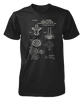 Bunsen Burner Patent - Mens - Tshirt - Small to 5XL