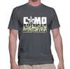 Camo - America's Away Colors - Mens - Tshirt - Small to 5XL