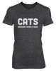 Cats. Because People Suck - Womens - Tshirt - Small to 2XL