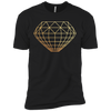 Diamond Geode Mens - Tshirt - Small to 5XL