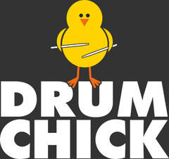 Drum Chick - Womens - Tshirt - Small to 2XL