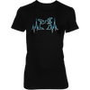 Drummer Heart Line - Womens - Tshirt - Small to 3XL