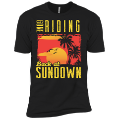 Gone Riding Back At Sundown - Mens - Tshirt - Small to 5XL