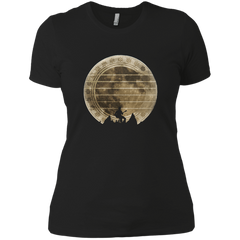 Guitar In The Moonlight - Womens - Tshirt - Small to 3XL