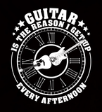 Guitar Is The Reason I Get Up Every Afternoon _?? Mens - Tshirt - Small to 5XL